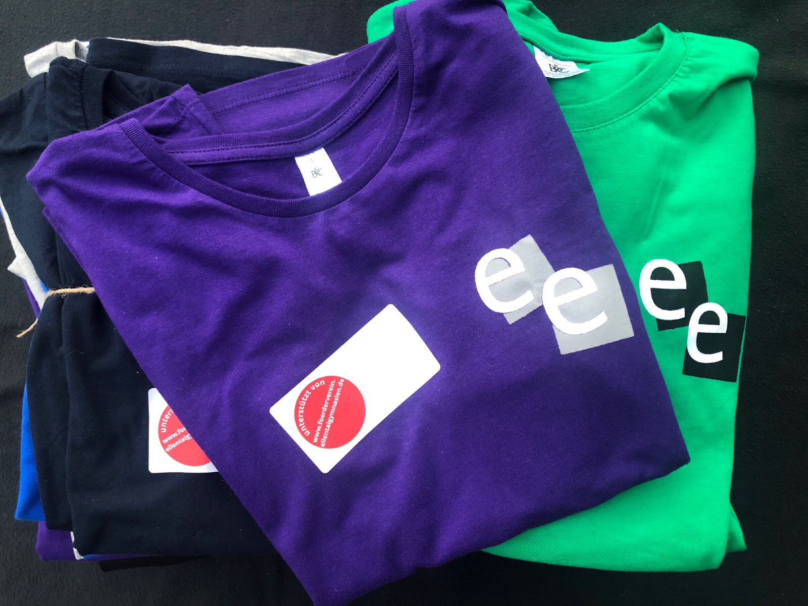Die Bestell-Aktion Okt./Nov. 2020 der Schul-T-Shirts ist abgeschlossen